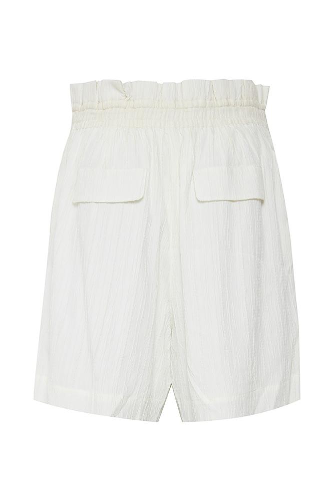 Paperbag Shorts White